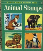 <h5>Animal Stamps #A7 (1955)</h5><p>Stamps; Activity Book</p>