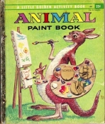 <h5>Animal Paint Book #A4 (1954)</h5><p>Art; Activity Book</p>