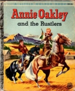 <h5>Annie Oakley and the Rustlers #221 (1955)</h5><p>Annie Oakley; TV</p>