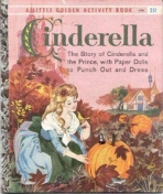 <h5>Cinderella (Paper Dolls) #A36 (1960)</h5><p>Activity Book; Paper Dolls</p>