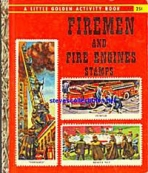<h5>Firemen and Fire Engine Stamps #A27 (1959)</h5><p>Stamps; Activity Book</p>