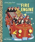 <h5>The Fire Engine Book (2001) </h5><p>AKA Fire Engines (1959)  Classic Edition</p>