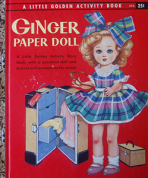 <h5>Ginger Paper Doll #A14 (1957) (#A32)</h5><p>Paper Dolls; Activity Book</p>