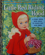 <h5>Little Red Riding Hood #A34 (1959)</h5><p>Paper Dolls; Activity Book; Fairy Tales</p>