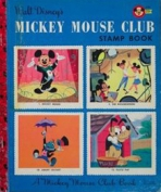 <h5>Mickey Mouse Club Stamp Book #A10 (1956)</h5><p>Mickey Mouse; Disney; Film; TV; Activity Book</p>