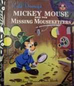 <h5>Mickey Mouse and the Missing Mousketeers #D57 (1956)</h5><p>Mickey Mouse; Disney; Film; TV</p>