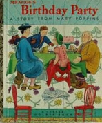 <h5>Mr. Wigg's Birthday Party #140 (1952)</h5><p>Mary Poppins; Books</p>