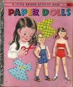 <h5>Paper Dolls #A3 (1955) (#A47, 1960)</h5><p>Activity Book</p>