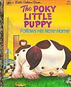 <h5>The Poky Little Puppy Follows His Nose Home #130 (1975)</h5><p>Poky Little Puppy; LGB Sequels; Books</p>