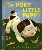 <h5>The Poky Little Puppy #8 (1942)</h5><p> (#271, 1956; #506, 1963; #303-55, 1969; etc.</p>
