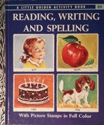 <h5>Reading, Writing and Spelling Stamps #A24 (1959)</h5><p>Activity Book</p>