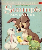 <h5>Scamp's Adventure #D70 (1958) (#D88, 1960)</h5><p>AKA - Scamp 101 Damlatians; Disney; Film</p>
