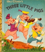 <h5>Three Little Pigs (Disney) #D10 (1948) </h5><p>Disney; Fairy Tales; Film</p>