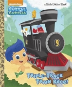 <h5>Triple-Track Train Race! (2015)</h5><p>Bubble Guppies; Nickelodeon; TV</p>