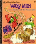<h5>Wacky Witch and the Mystery if the King's Gold #416 (1973)</h5><p>Gold Key Comics</p>